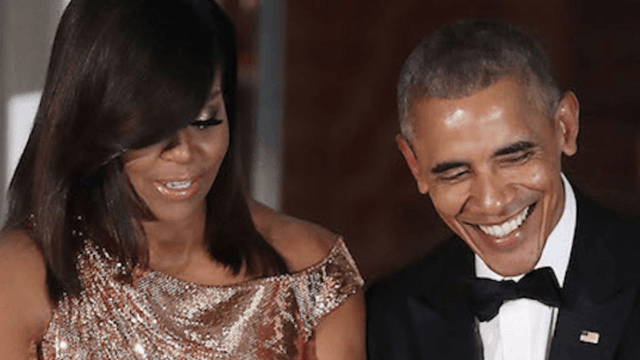 Barack and Michelle Obama look so happy and relaxed in video from their beach vacation.