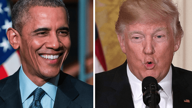Obama's photographer giddily trolls Trumpcare with a photo of its polar opposite.