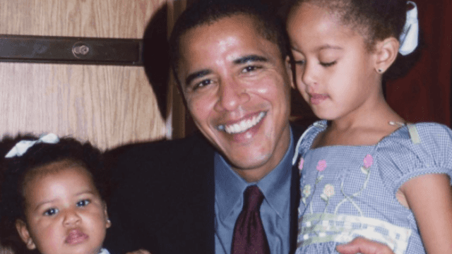 Of course, Barack and Michelle Obama sent the sweetest Father's Day messages.