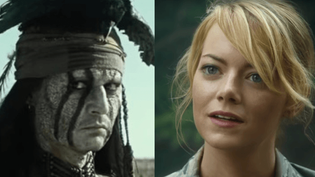 15 Hollywood casting decisions that offended as many people as possible.