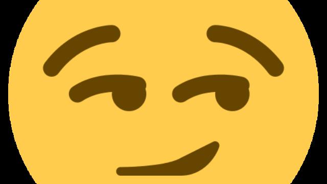 Office building-megaphone-happy face-camera-dollar symbol! (Sony has announced an Emoji movie.)