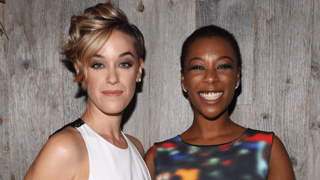 'OITNB' actress Samira Wiley and show writer Lauren Morelli got married this weekend.