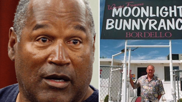 O.J. Simpson offered job at a brothel and some sex workers threaten to quit.