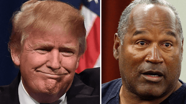 O.J. Simpson and Donald Trump used to be friends. No one's surprised.