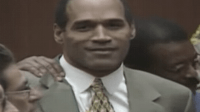 O.J.'s lawyer finally reveals what he whispered to him after the acquittal.