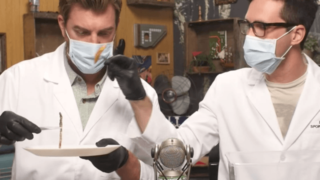 Rhett and Link ruin your favorite foods by showing what they look like after two months. You will barf.