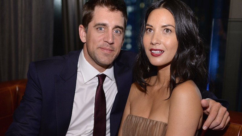 Olivia Munn shoots down engagement rumors by sharing adorable texts from her mom.