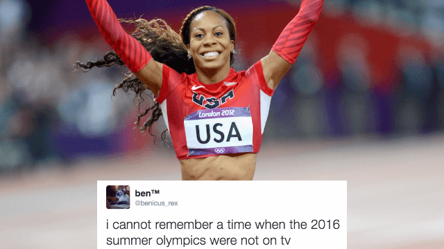 The 26 funniest reactions to Day 15 of the Olympics.