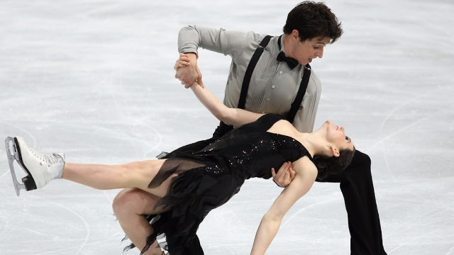 Virtue and Moir keep iron grip on first place for Team Canada
