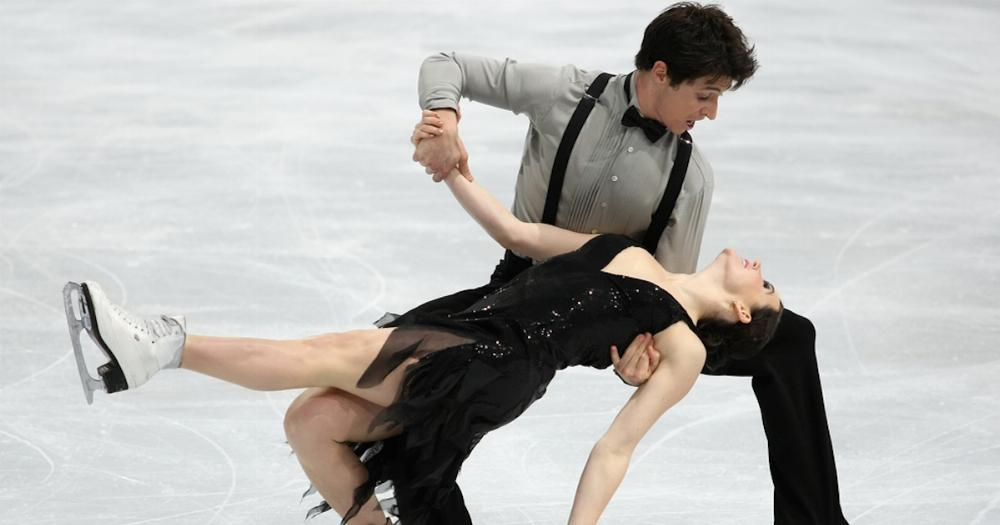 This Olympic Ice Dancing Pair Had To Scrap A Move That Could Be Confused For A Sex Position -8579