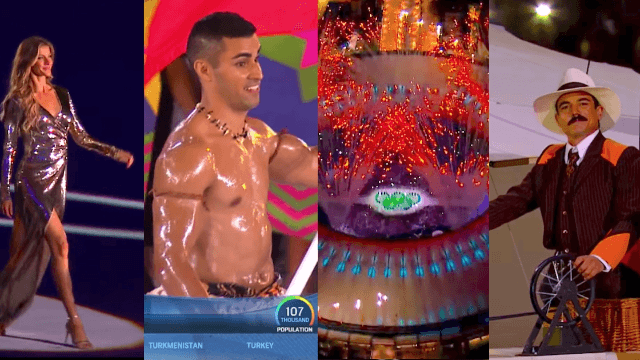 Here's everything from the Olympics Opening Ceremony you're allowed to watch on the internet.