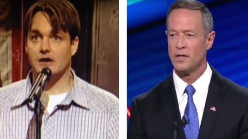 Debate viewers last night excitedly noticed that Martin O'Malley sounds just like a person we all love.