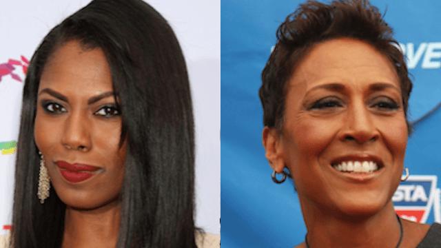 "Omarosa strikes back at Robin Roberts' snub by declaring a ""black woman civil war."""