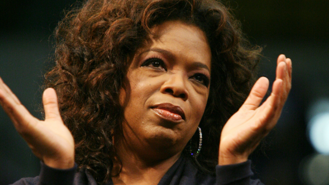 Oprah's reaction to a white lady's season-less chicken is a holiday miracle.