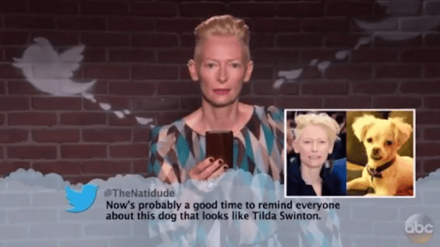 Jimmy Kimmel brings us a new edition of Mean Tweets for the Oscars.