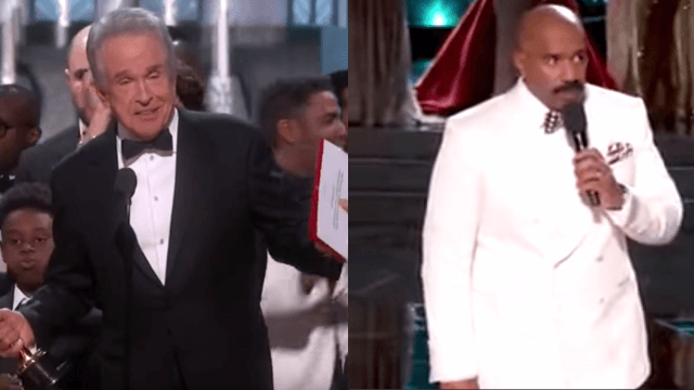 Steve Harvey has some tips for Warren Beatty on handling his post-Oscars humiliation.