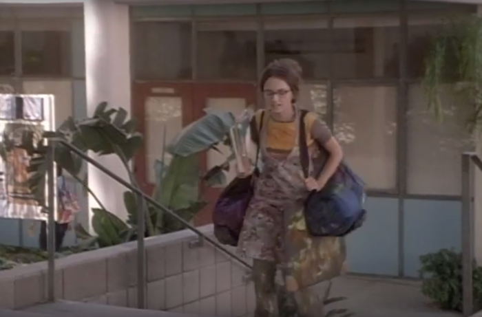 9 of the most hilariously inappropriate outfits students wore to high school in teen movies.
