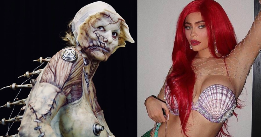18 elaborate celebrity Halloween costumes only rich people could afford.