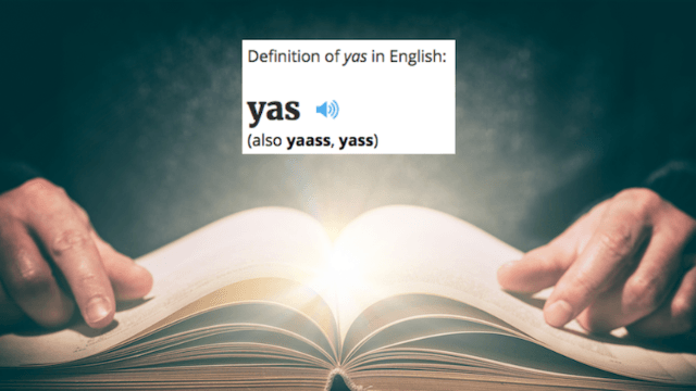 """'Oxford Dictionaries' just got a lot more basic with the addition of """"yas"""" and """"squad goals."""""""