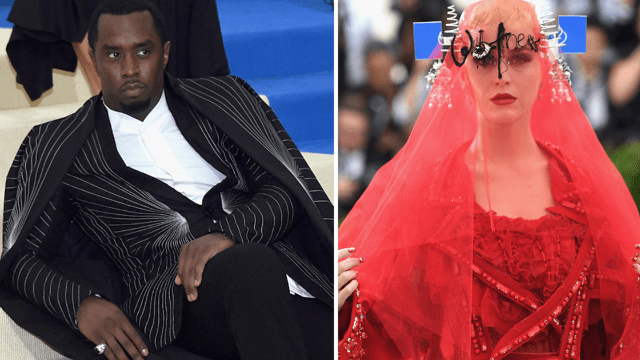 P. Diddy and Katy Perry won the Met Gala, if 'winning' is being mercilessly mocked online.