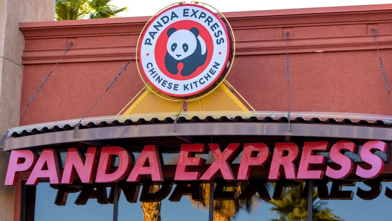 Panda Express further classes up airport Chinese food with the 'chork.'
