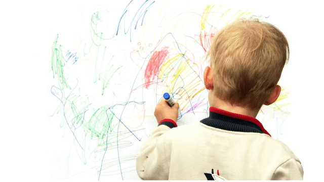 These parents had the most creative response to their son drawing on the walls.
