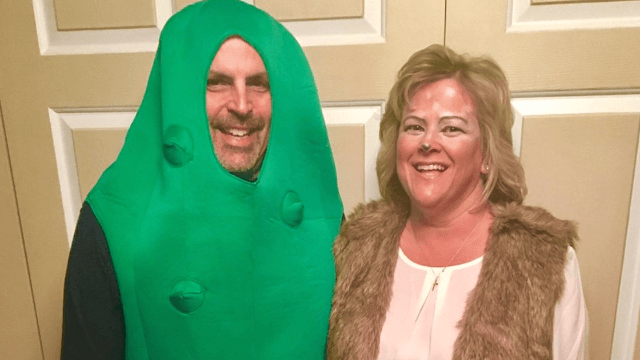 The best couple's Halloween costume of 2016 is these parents' G-rated sex pun.