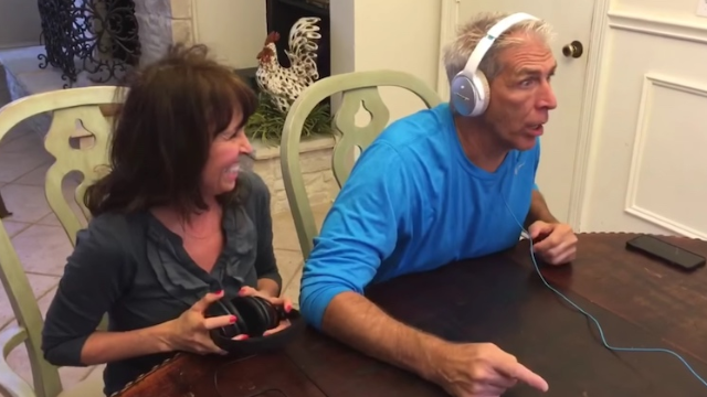 Parents find out they're becoming grandparents in a guessing game. One takes much longer.