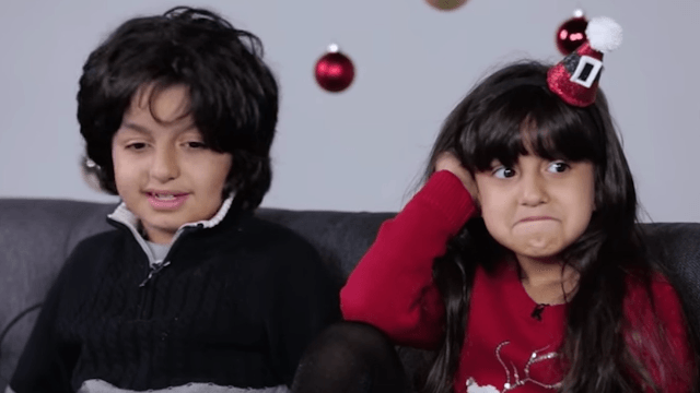 Enjoy watching parents devastate kids with the truth about Santa Claus, you Grinch.