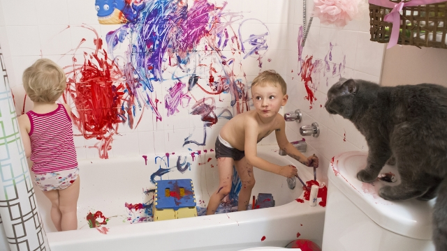 22 parents share photos of their homes that have been ransacked by kids in quarantine.