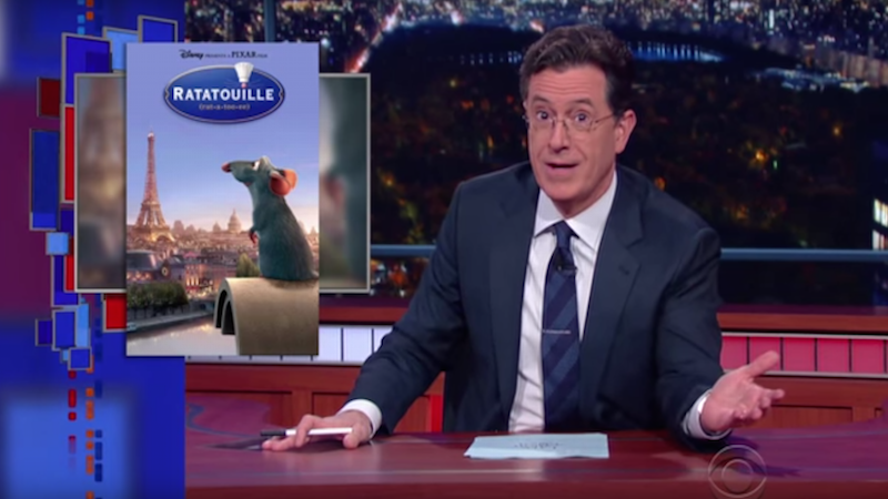 Late night hosts respond to the Paris tragedy with touching monologues that are still funny.