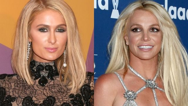 Paris Hilton reacts to Britney Spears mentioning her in court testimony.