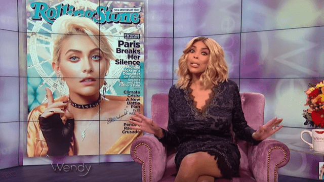 Wendy Williams came for Paris Jackson over 'black' comments but Michael Jackson's daughter is not having it.