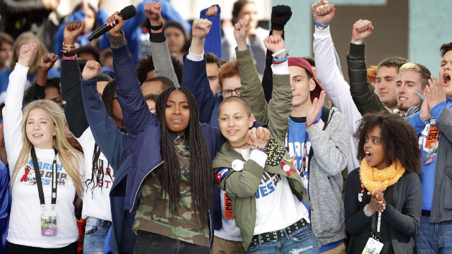 Parkland teens troll their new backpacks with the thing that scares conservatives the most.