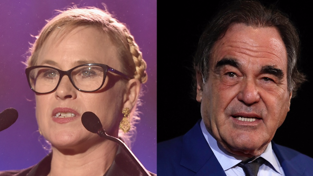 Patricia Arquette just tweeted a story about her very creepy experience with Oliver Stone.