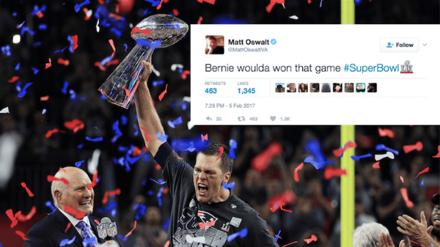 22 of the best tweets comparing the Patriots' comeback victory to the 2016 election.