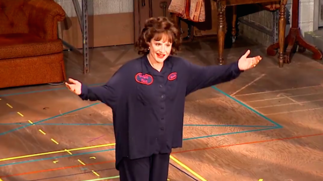 Patti LuPone gives the woman who wouldn't stop texting during her show a very special performance.