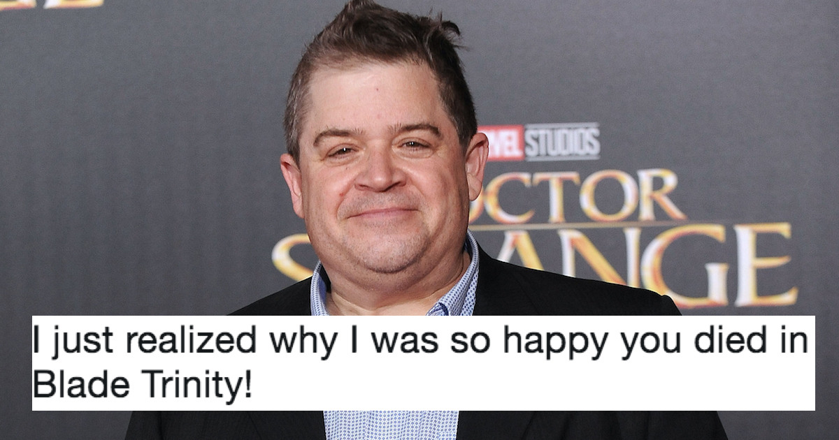 A Troll Came For Patton Oswalt And Got Shut Down With Kindness