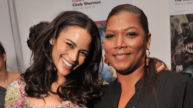 Rumor that Paula Patton is dating Queen Latifah might just be people torturing Robin Thicke.