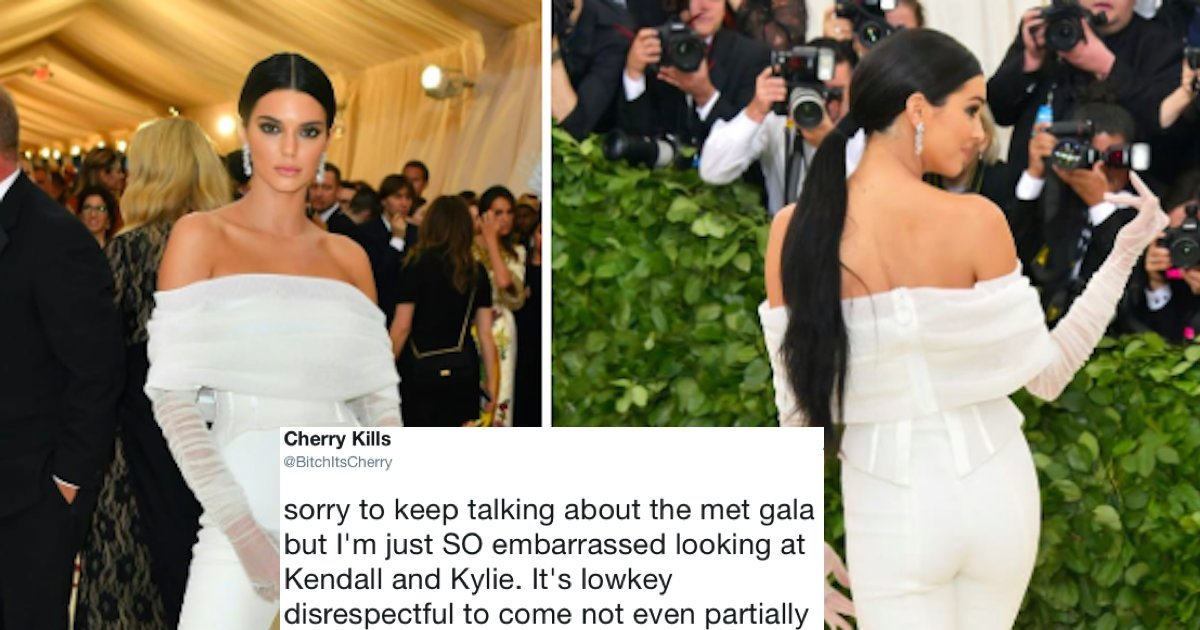people are mad about kylie and kendall jenner s disrespectful