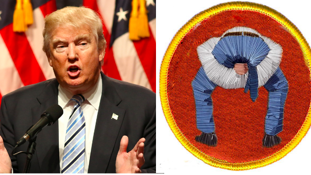 People are making their own 'Trump Scout Badges' and the results are painfully hilarious.