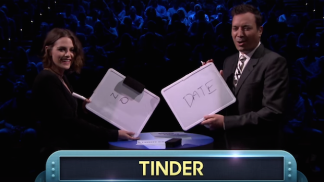 Is it Kristen Stewart that's awkward or is it playing games with Jimmy Fallon on TV that's awkward?