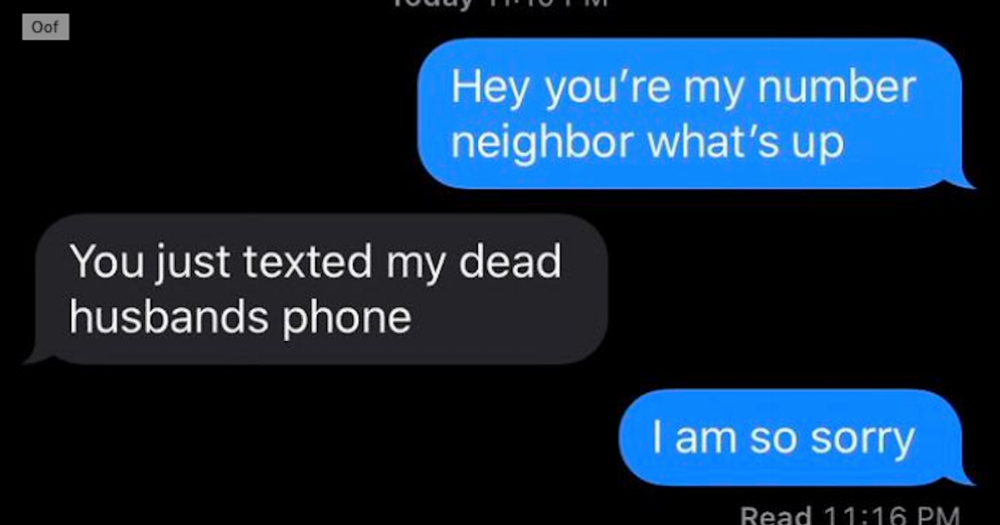 20 people texted strangers with similar phone numbers and shared the