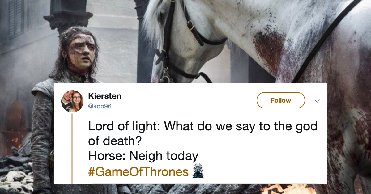 Download Meme Game Of Thrones Horse   PNG & GIF BASE