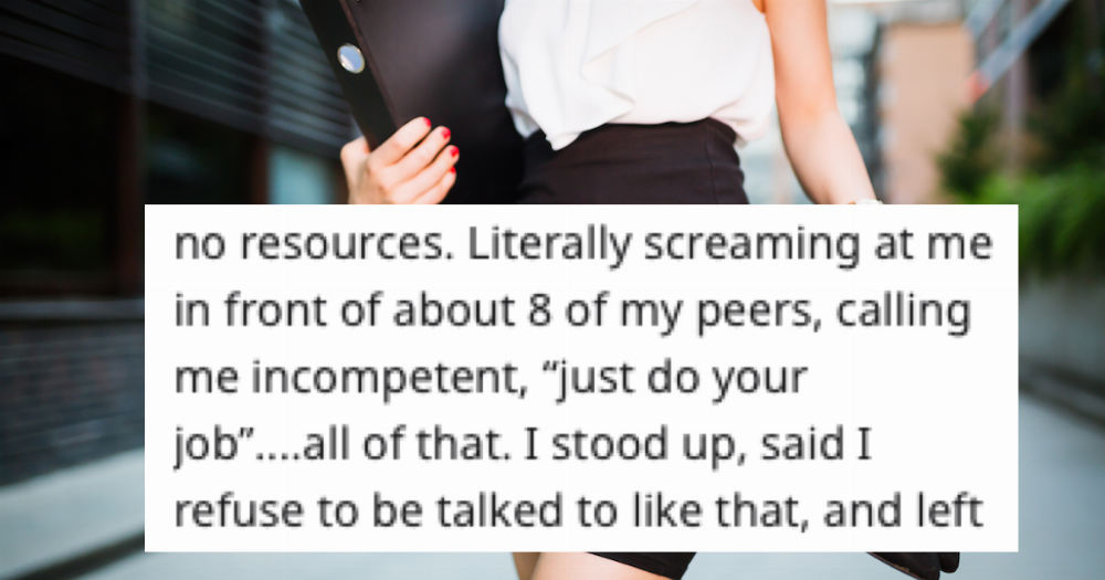 21 people share the moment they angrily quit their job on the spot.