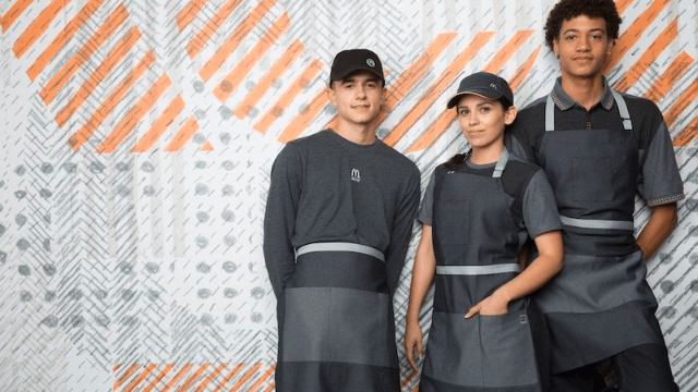 People are trying to figure out which sci-fi dystopia the new McDonald's uniforms are from.