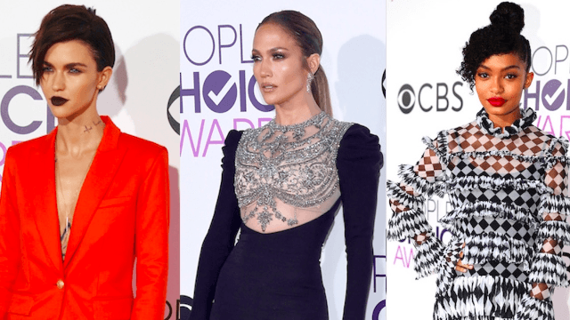 The best dressed celebrities at the 2017 People's Choice Awards.