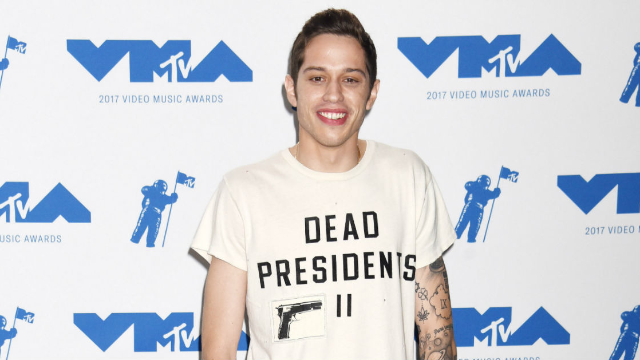 Pete Davidson fires back at people claiming he disrespected Ariana Grande's dead grandfather.