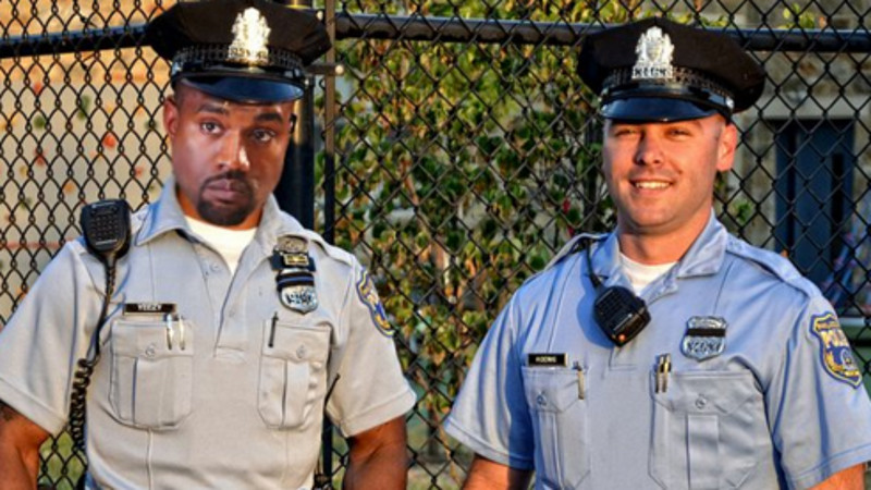 Now the Philadelphia Police Department is offering Kanye a job.