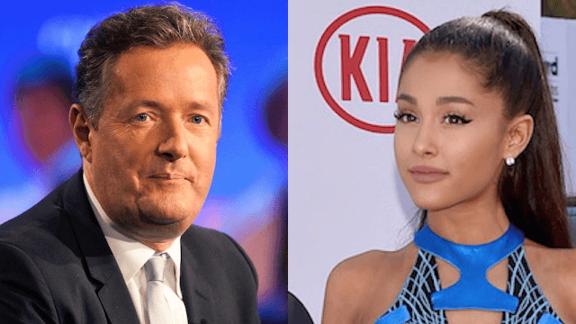 Piers Morgan reprimands Ariana Grande after Manchester bombing and no one is having it.